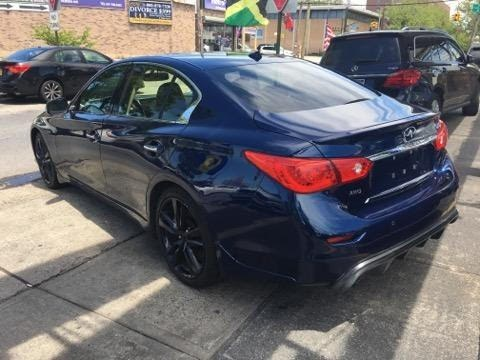 2016 INFINITI Q50 4dr Sdn 3.0t Red Sport 400 AWD, available for sale in Brooklyn, New York   E Cars . Brooklyn, New York