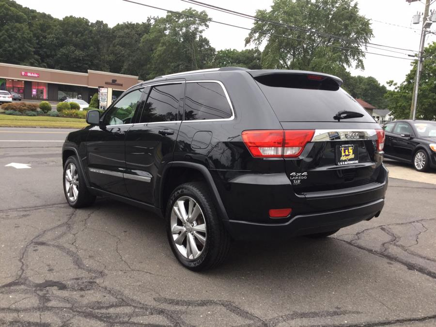 2012 Jeep Grand Cherokee 4WD 4dr Laredo, available for sale in Plantsville, Connecticut | L&S Automotive LLC. Plantsville, Connecticut