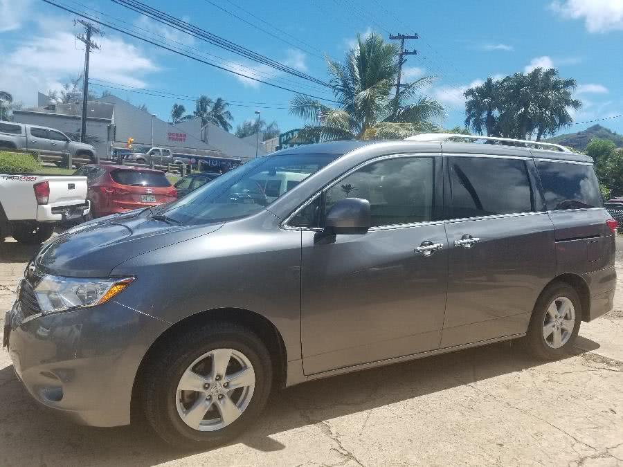Used 2017 Nissan Quest in Lihue, Hawaii | Harbor Motors Inc. Lihue, Hawaii