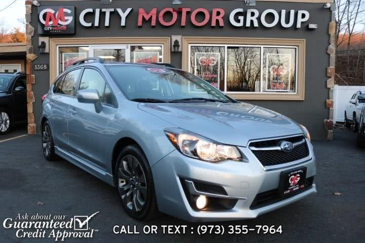 Used Subaru Impreza 2.0i Sport Limited 2015 | City Motor Group Inc.. Haskell, New Jersey
