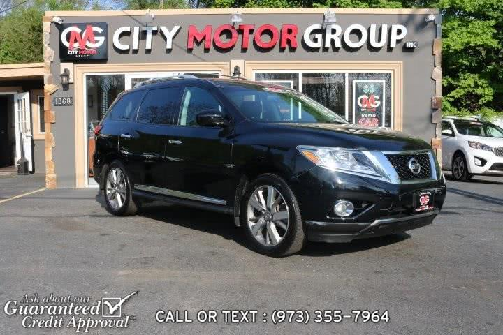 Used 2014 Nissan Pathfinder in Haskell, New Jersey | City Motor Group Inc.. Haskell, New Jersey