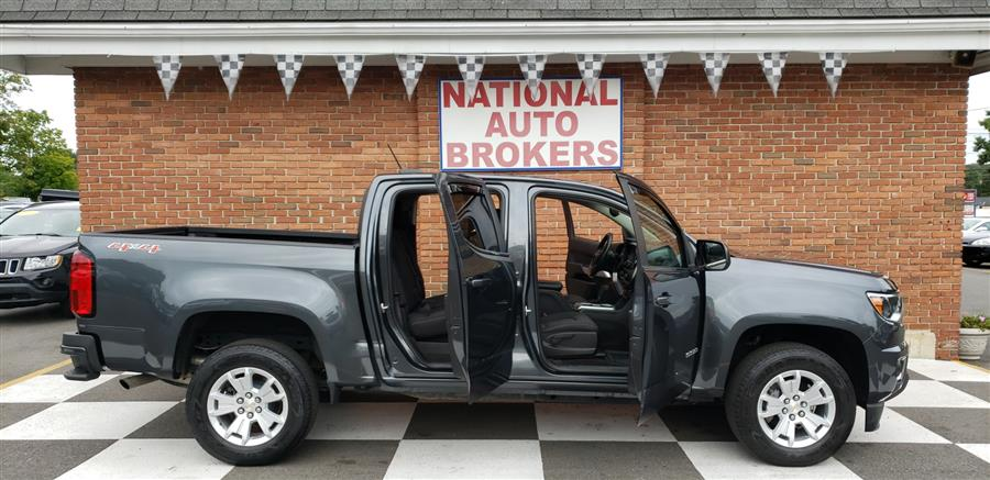 2016 Chevrolet Colorado 4WD Crew Cab LT, available for sale in Waterbury, Connecticut   National Auto Brokers, Inc.. Waterbury, Connecticut