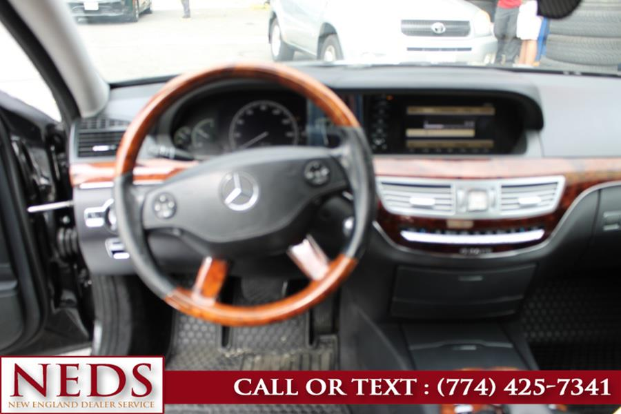 2007 Mercedes-Benz S-Class 4dr Sdn 5.5L V8 4MATIC, available for sale in Indian Orchard, Massachusetts | New England Dealer Services. Indian Orchard, Massachusetts