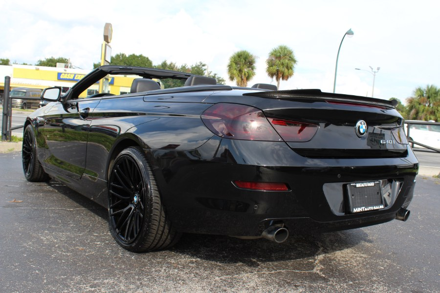 2013 BMW 6 Series 640i w/NAV 2dr Conv Auto, available for sale in Orlando, Florida | Mint Auto Sales. Orlando, Florida