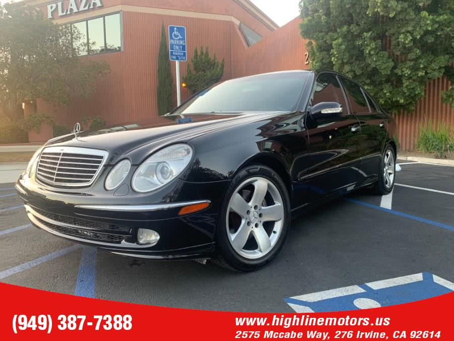Used 2004 Mercedes-Benz E500 in Irvine, California | High Line Motors LLC. Irvine, California