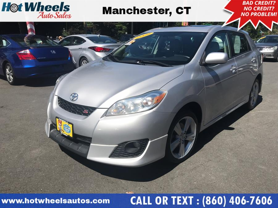 2009 Toyota Matrix 5dr Wgn Auto S AWD, available for sale in Manchester, Connecticut | Hot Wheels Auto Sales LLC. Manchester, Connecticut