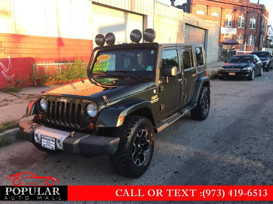 Used 2010 Jeep Wrangler Unlimited in Newark , New Jersey | Popular Auto Mall Inc . Newark , New Jersey