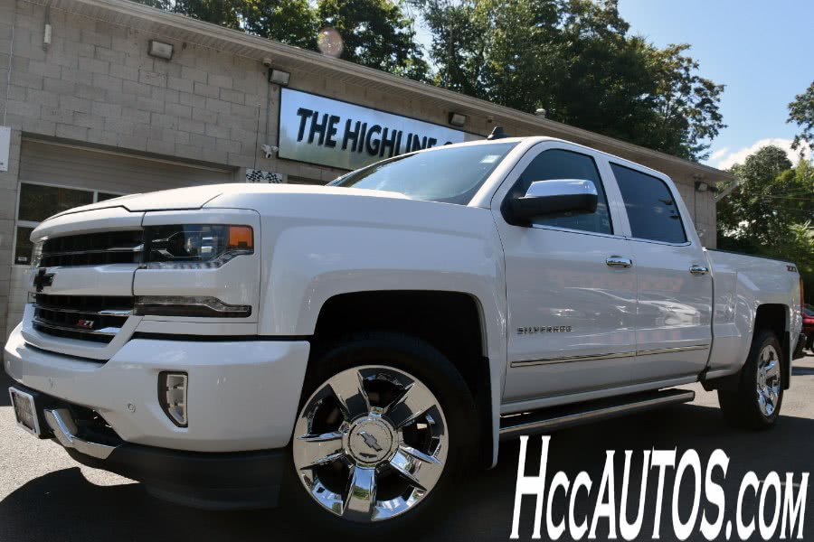Used Chevrolet Silverado 1500 4WD Crew Cab LTZ w/1LZ 2017 | Highline Car Connection. Waterbury, Connecticut