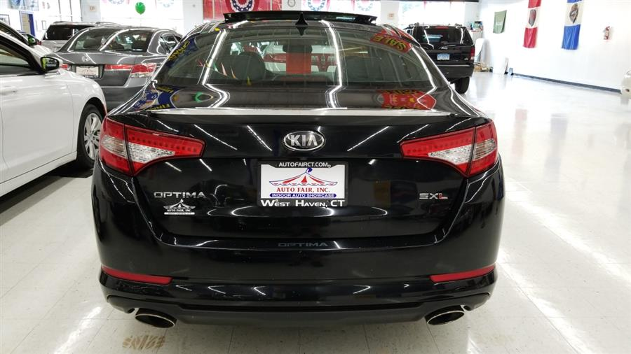 2013 Kia Optima 4dr Sdn SX w/Limited Pkg, available for sale in West Haven, CT