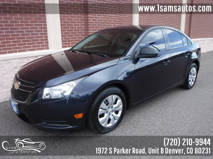 Used 2014 Chevrolet Cruze in Denver, Colorado | Sam's Automotive. Denver, Colorado