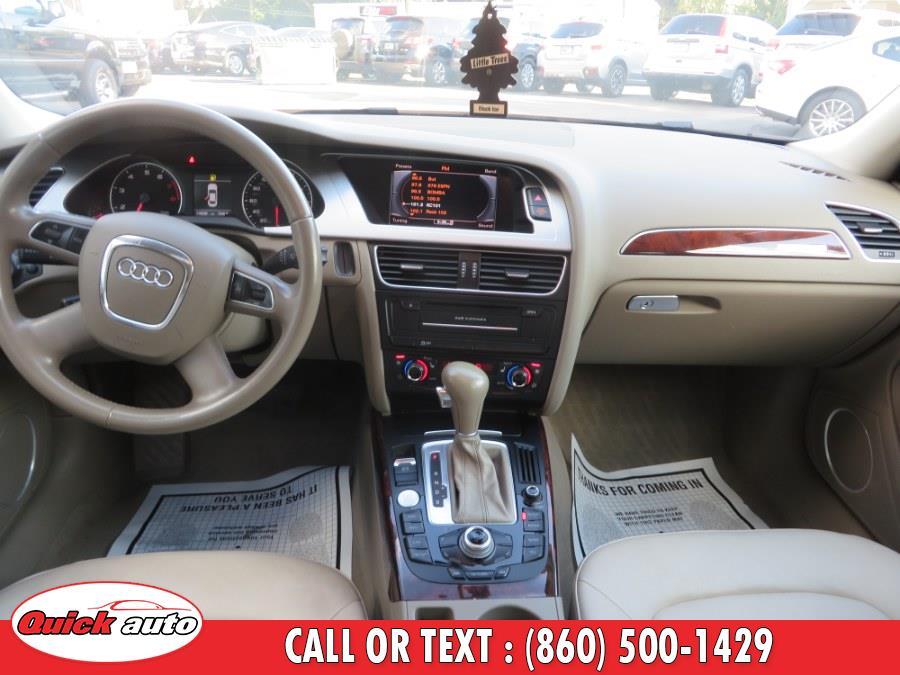 2012 Audi A4 4dr Sdn Auto quattro 2.0T Prestige, available for sale in Bristol, Connecticut | Quick Auto LLC. Bristol, Connecticut