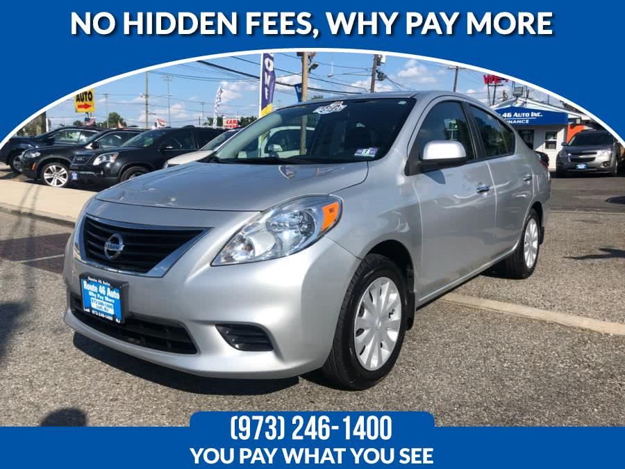 2012 Nissan Versa 4dr Sdn CVT 1.6 SV, available for sale in Lodi, New Jersey | Route 46 Auto Sales Inc. Lodi, New Jersey
