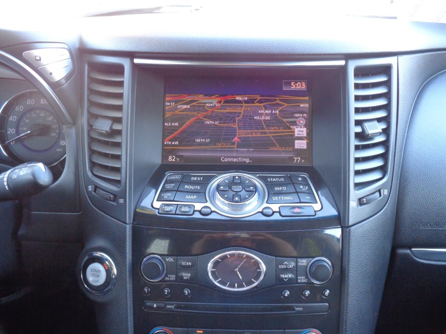 2012 Infiniti FX35 AWD Technology package Navigation Camera Bluetooth Climate Seats XM Bose, available for sale in Jamaica, New York   Top Speed Motors LLC. Jamaica, New York