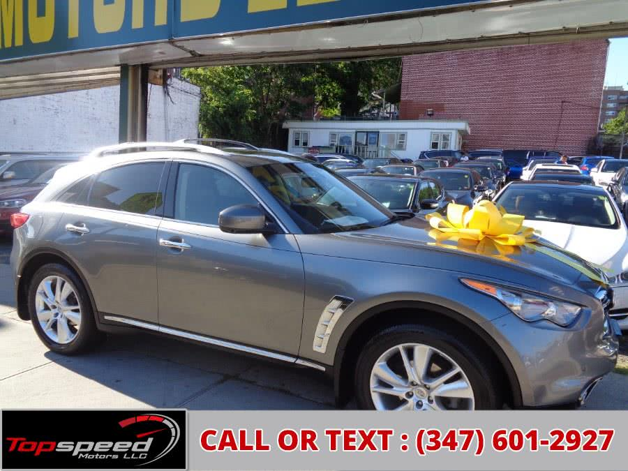 Used 2012 Infiniti FX35 AWD Technology package in Jamaica, New York | Top Speed Motors LLC. Jamaica, New York