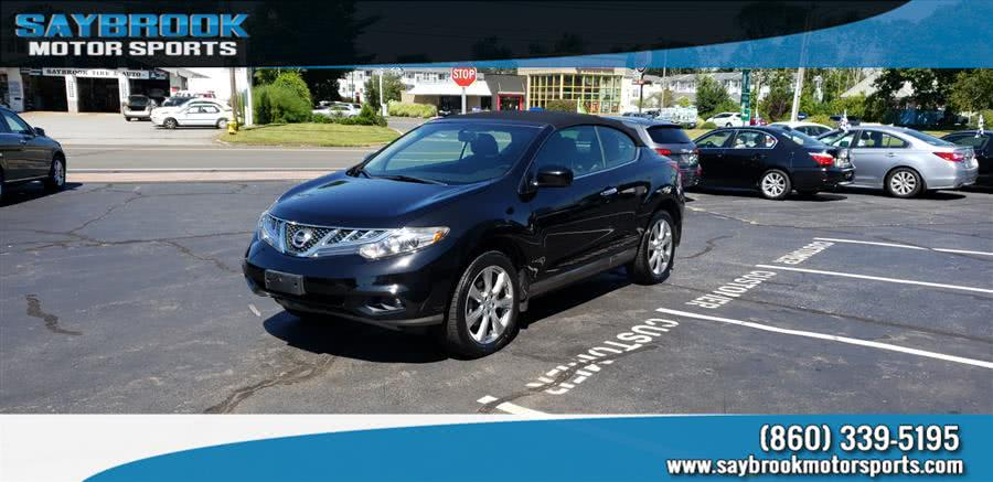 Used 2014 Nissan Murano CrossCabriolet in Old Saybrook, Connecticut | Saybrook Motor Sports. Old Saybrook, Connecticut