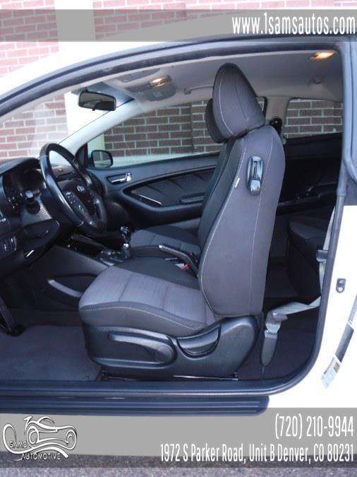 2015 Kia Forte Koup 2dr Cpe Man EX, available for sale in Denver, Colorado | Sam's Automotive. Denver, Colorado