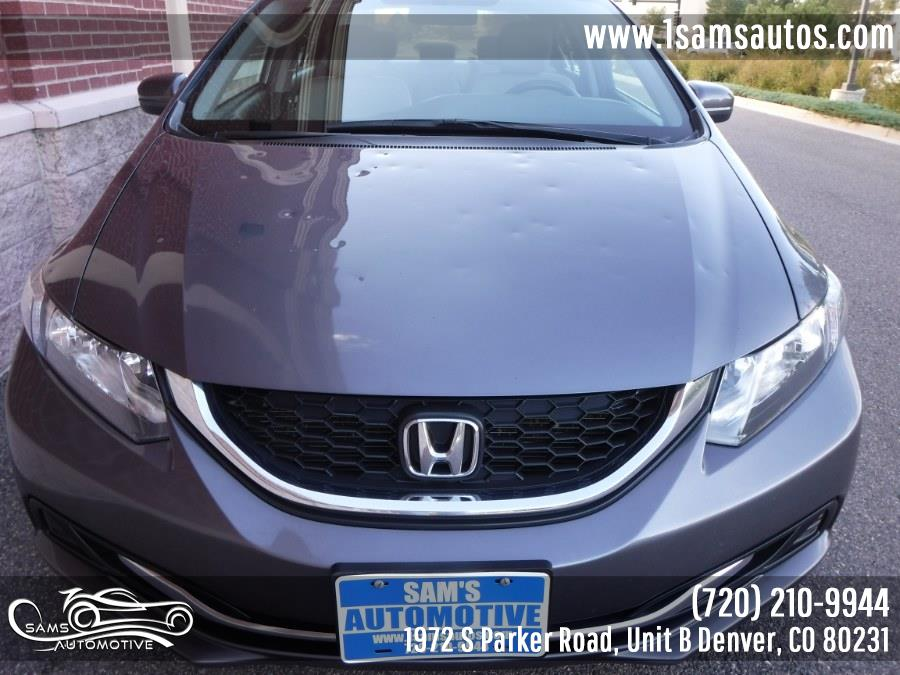 2014 Honda Civic Sedan 4dr CVT LX, available for sale in Denver, Colorado | Sam's Automotive. Denver, Colorado