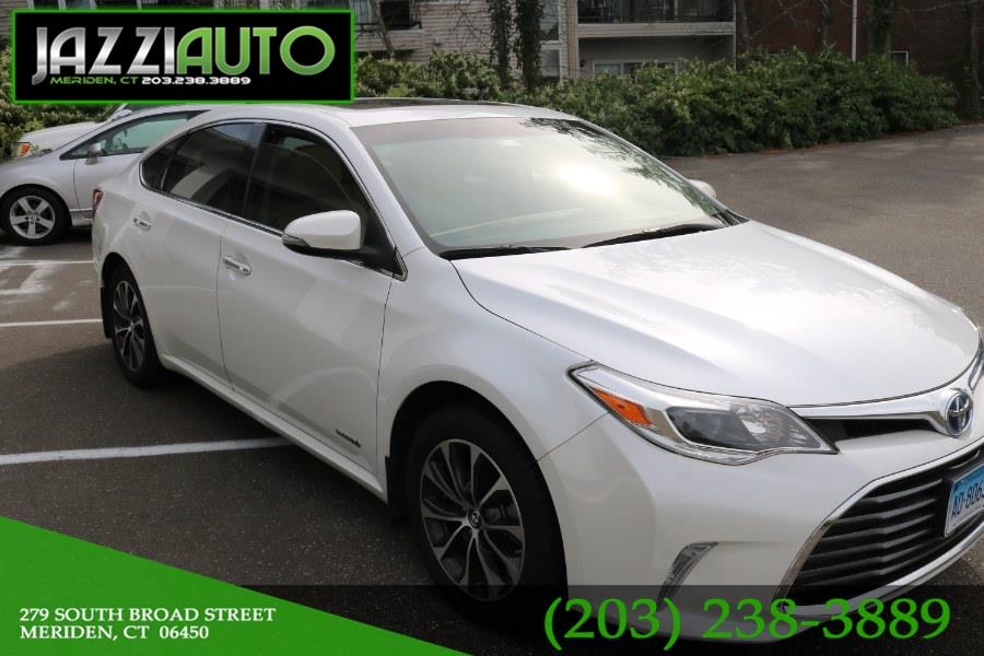 2016 Toyota Avalon Hybrid 4dr Sdn XLE Premium (Natl), available for sale in Meriden, Connecticut | Jazzi Auto Sales LLC. Meriden, Connecticut