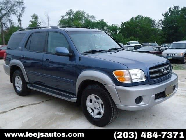 Used 2002 Toyota Sequoia in North Branford, Connecticut | LeeJ's Auto Sales & Service. North Branford, Connecticut