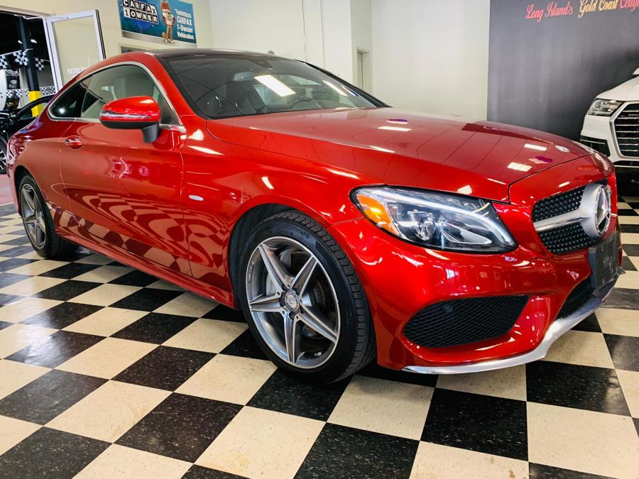 Used Mercedes-Benz C-Class C300 4MATIC Coupe 2017 | Northshore Motors. Syosset , New York