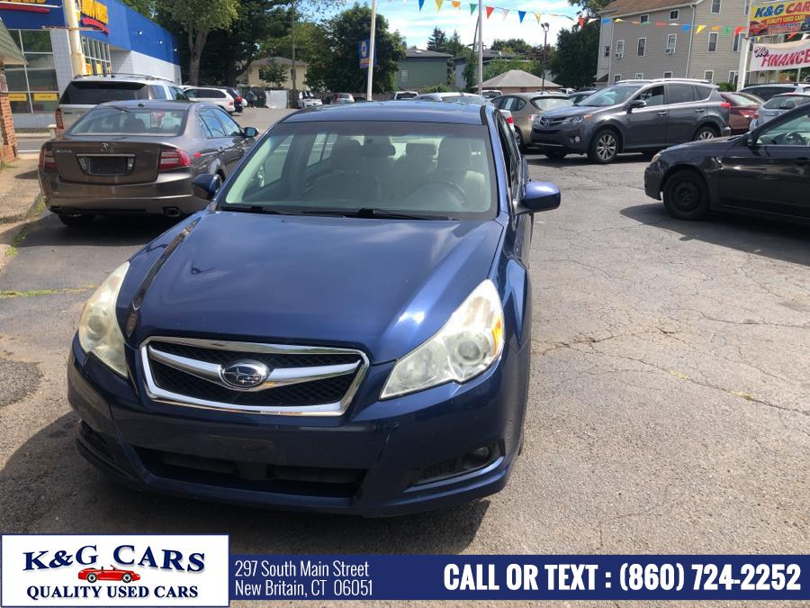 Used Subaru Legacy 4dr Sdn H4 Auto Limited Pwr Moon 2010 | K and G Cars . New Britain, Connecticut