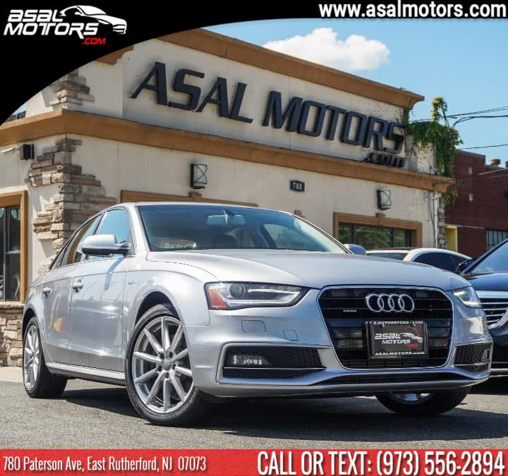 Used Audi A4 4dr Sdn Auto quattro 2.0T Premium Plus 2015 | Asal Motors. East Rutherford, New Jersey