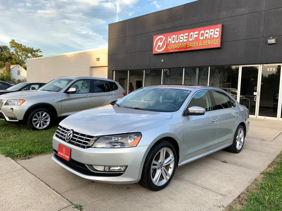 Used Volkswagen Passat 4dr Sdn 2.0L DSG TDI SEL Premium 2014 | House of Cars. Watertown, Connecticut