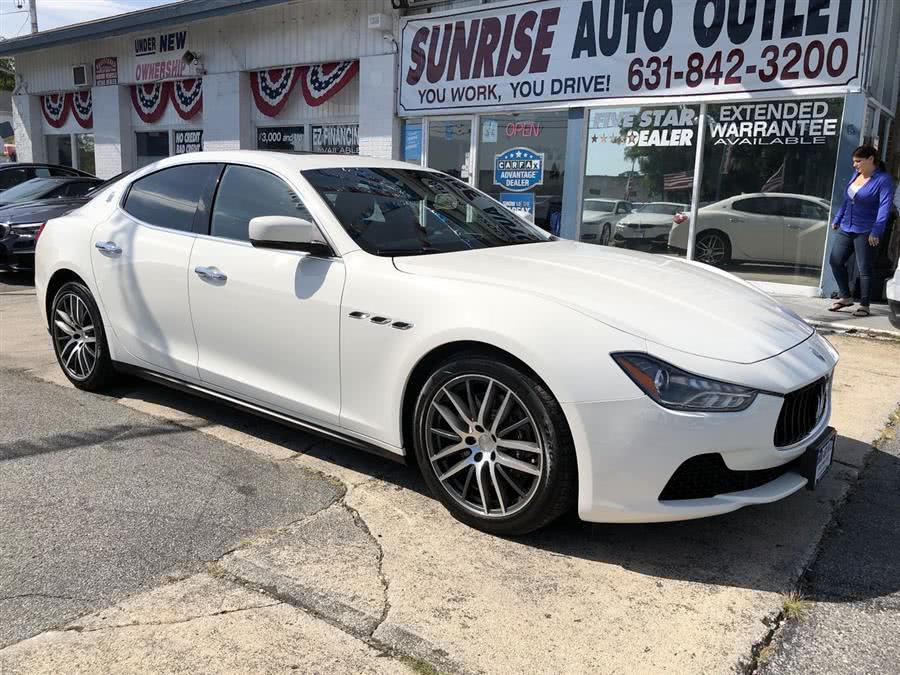 Used 2015 Maserati Ghibli in Amityville, New York | Sunrise Auto Outlet. Amityville, New York