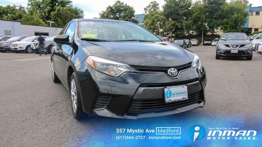 Used 2016 Toyota Corolla in Medford, Massachusetts   Inman Motors Sales. Medford, Massachusetts
