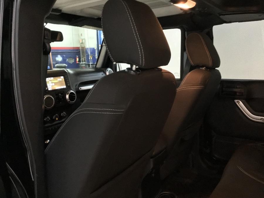 Used Jeep Wrangler Unlimited 4WD 4dr Sahara 2015   M Sport Motor Car. Hillside, New Jersey