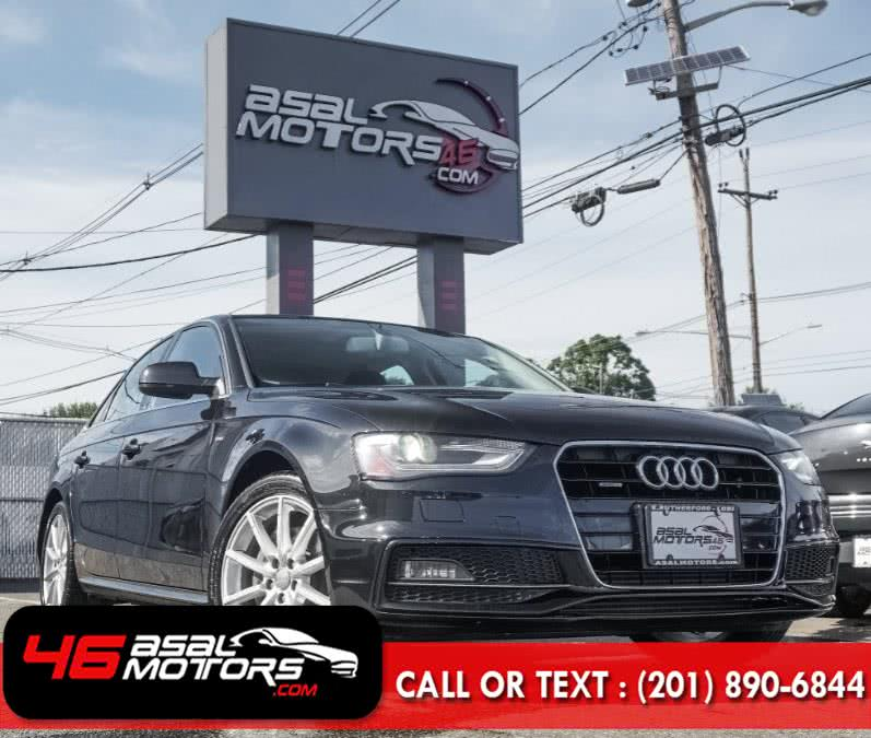 Used Audi A4 4dr Sdn Auto quattro 2.0T Premium Plus 2014 | Asal Motors. East Rutherford, New Jersey