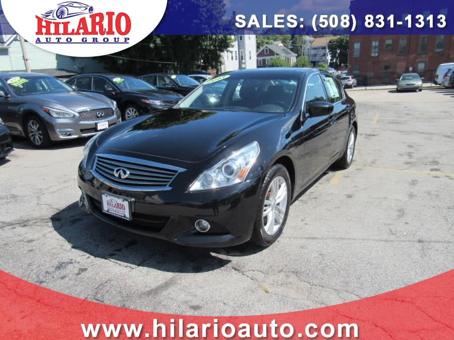 2013 Infiniti G37 Sedan 4dr x AWD, available for sale in Worcester, Massachusetts | Hilario's Auto Sales Inc.. Worcester, Massachusetts
