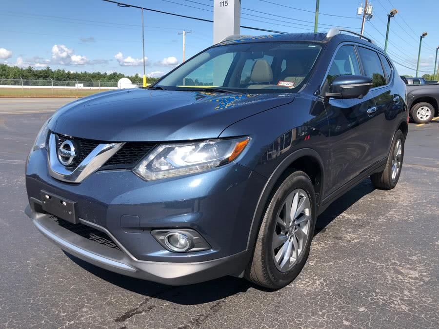 Used Nissan Rogue SL AWD 2015 | RH Cars LLC. Merrimack, New Hampshire
