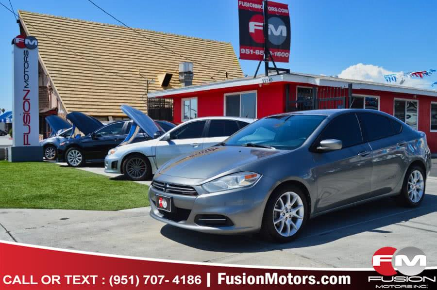 2013 Dodge Dart 4dr Sdn SXT, available for sale in Moreno Valley, California | Fusion Motors Inc. Moreno Valley, California