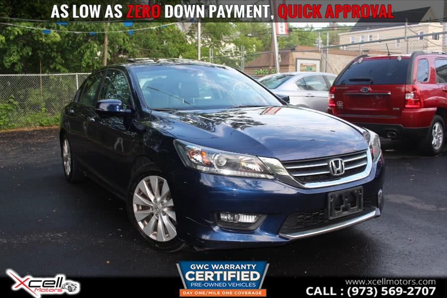 Used 2014 Honda Accord SDN in Paterson, New Jersey | Xcell Motors LLC. Paterson, New Jersey