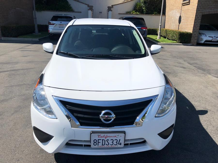 2016 Nissan Versa 4dr Sdn CVT 1.6 SV, available for sale in Lake Forest, California | Carvin OC Inc. Lake Forest, California