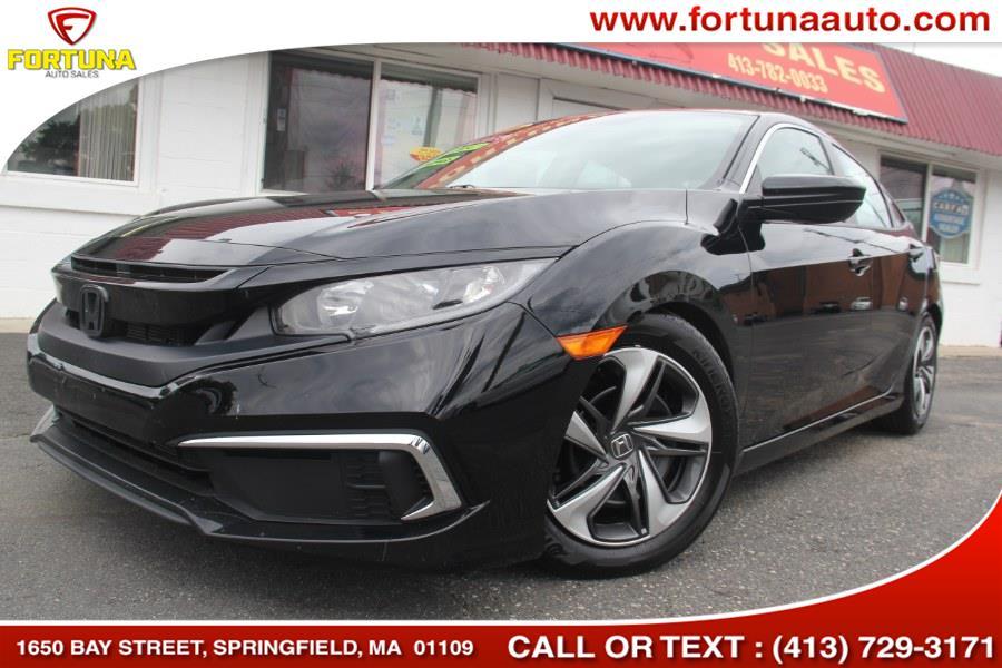 2019 Honda Civic Sedan LX CVT, available for sale in Springfield, Massachusetts | Fortuna Auto Sales Inc.. Springfield, Massachusetts