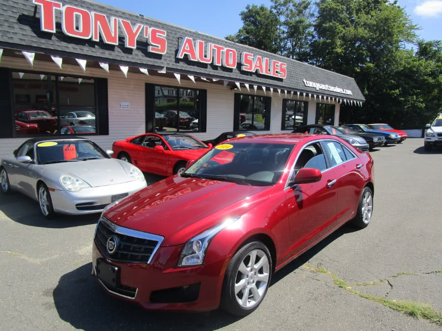 Used 2014 Cadillac ATS in Waterbury, Connecticut | Tony's Auto Sales. Waterbury, Connecticut