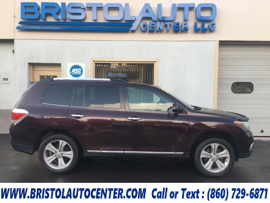 Used 2012 Toyota Highlander in Bristol, Connecticut | Bristol Auto Center LLC. Bristol, Connecticut
