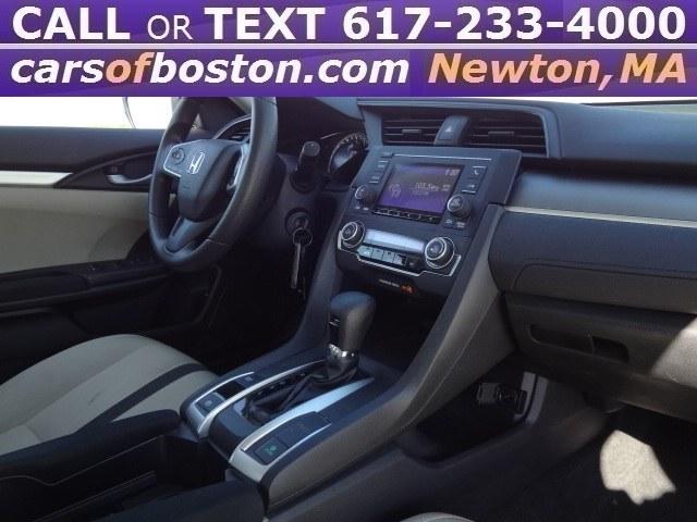 2016 Honda Civic Sedan 4dr CVT LX, available for sale in Newton, Massachusetts | Motorcars of Boston. Newton, Massachusetts
