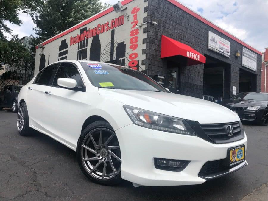 Used 2014 Honda Accord Sedan in Chelsea, Massachusetts | Boston Prime Cars Inc. Chelsea, Massachusetts