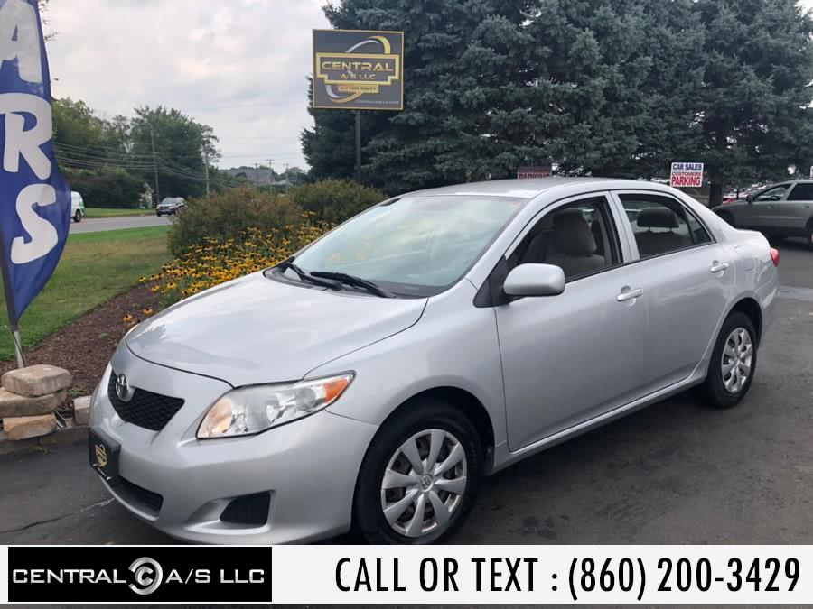 Used Toyota Corolla 4dr Sdn Auto (Natl) 2010 | Central A/S LLC. East Windsor, Connecticut