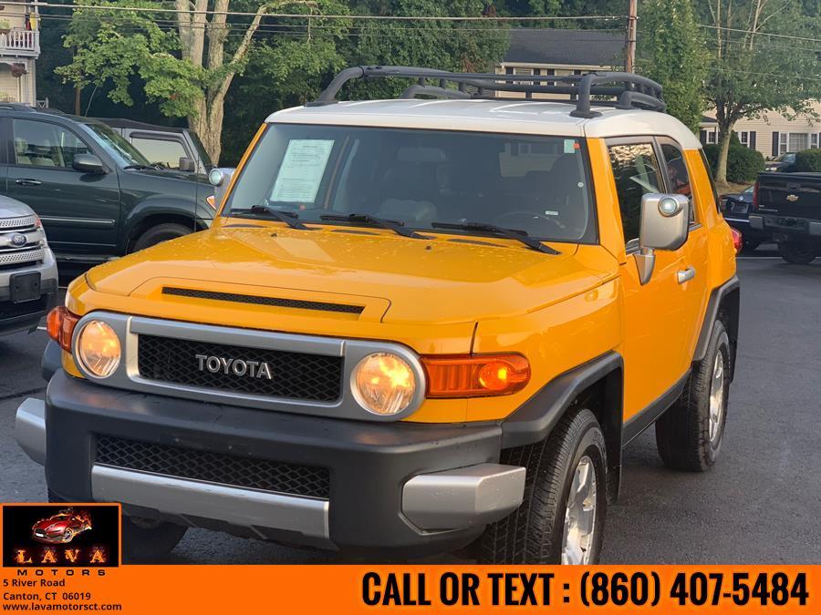 2007 Toyota FJ Cruiser 4WD 4dr Auto (Natl), available for sale in Canton, Connecticut | Lava Motors. Canton, Connecticut