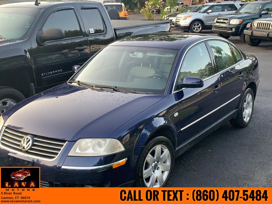 Used 2003 Volkswagen Passat in Canton, Connecticut | Lava Motors. Canton, Connecticut