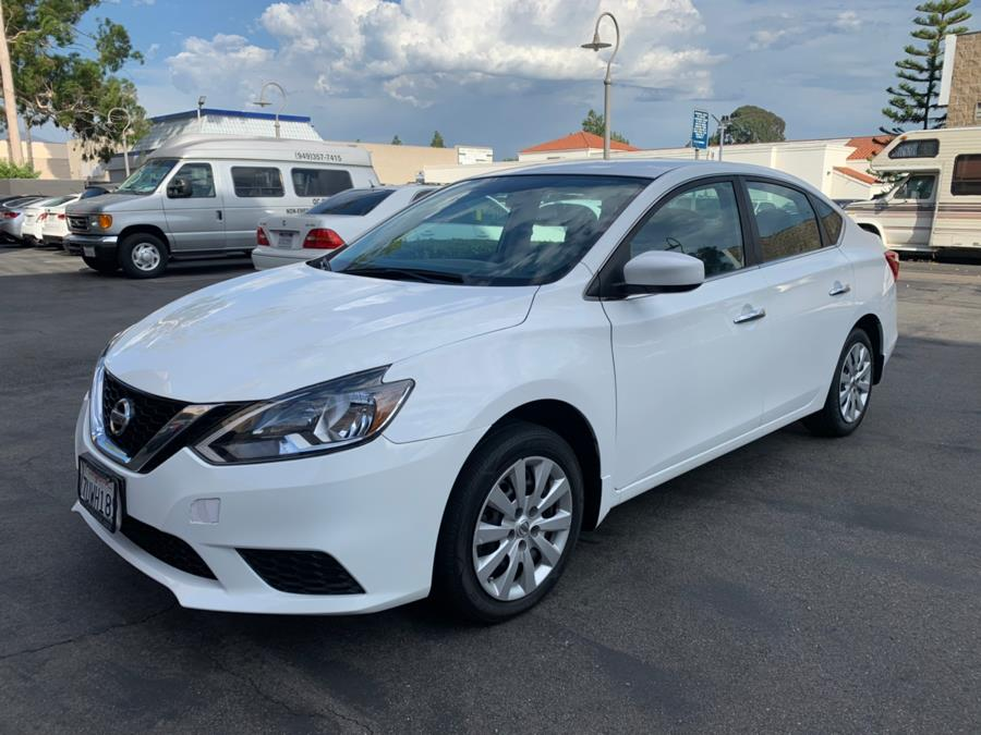 2016 Nissan Sentra 4dr Sdn I4 CVT S, available for sale in Lake Forest, California | Carvin OC Inc. Lake Forest, California