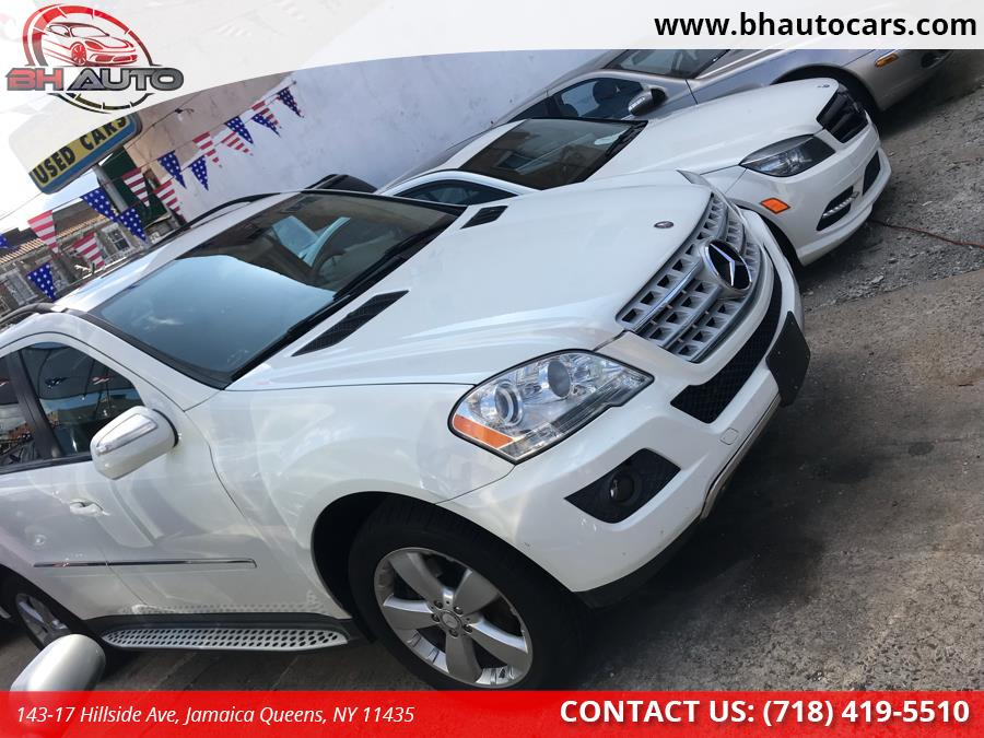 2009 Mercedes-Benz M-Class 4MATIC 4dr 3.5L, available for sale in Jamaica Queens, New York | BH Auto. Jamaica Queens, New York