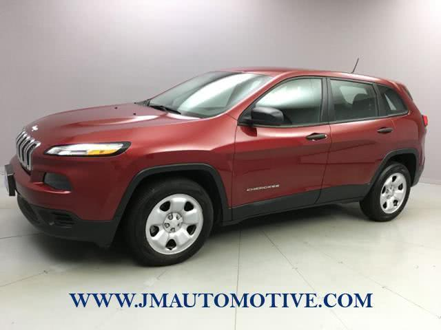 2014 Jeep Cherokee FWD 4dr Sport, available for sale in Naugatuck, CT