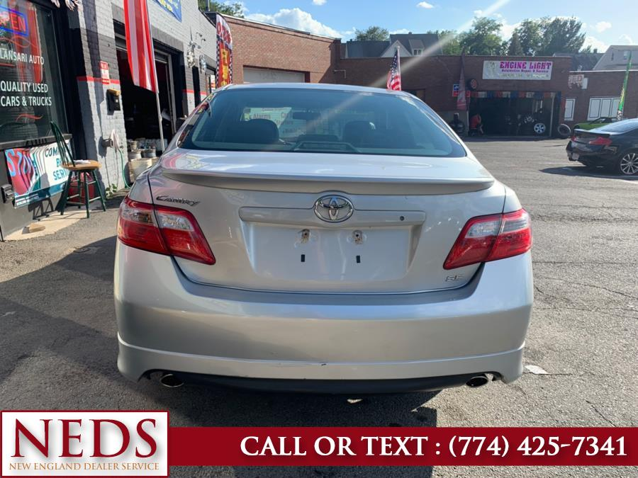 Used Toyota Camry 4dr Sdn V6 Auto SE 2007 | New England Dealer Services. Indian Orchard, Massachusetts
