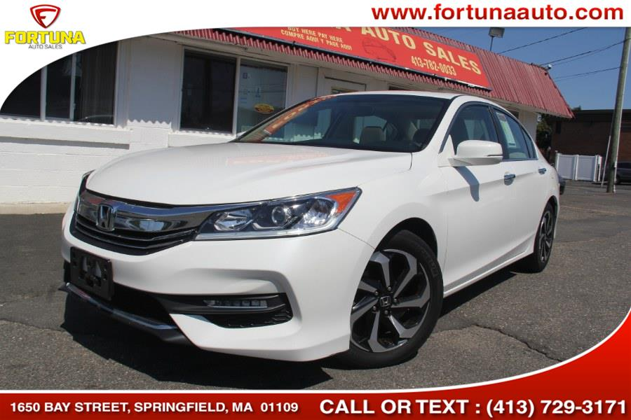 Used Honda Accord Sedan 4dr I4 CVT EX 2016 | Fortuna Auto Sales Inc.. Springfield, Massachusetts