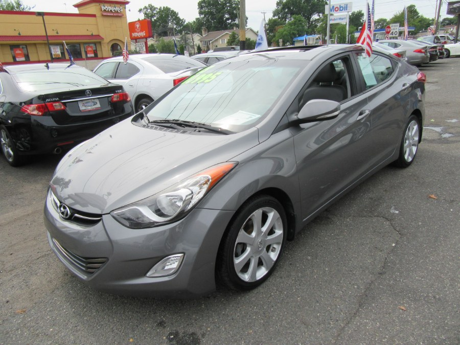 2013 Hyundai Elantra 4dr Sdn Auto GLS, available for sale in Little Ferry, New Jersey | Royalty Auto Sales. Little Ferry, New Jersey
